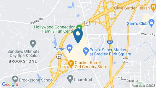 Home2 Suites by Hilton Columbus GA Map