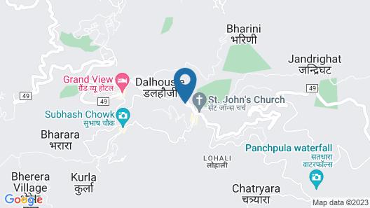 OYO 13755 Woodstock Inn Map