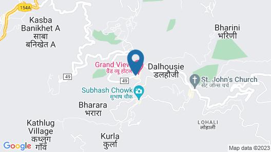 Hotel Kumar's Dalhousie Map