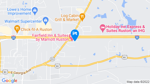 Country Inn & Suites by Radisson, Ruston, LA Map