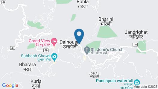 Hotel Himdhara Map