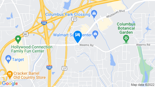 SpringHill Suites by Marriott Columbus Map