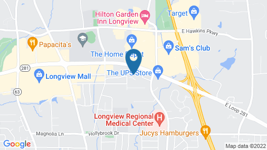 Wingate by Wyndham Longview North Map