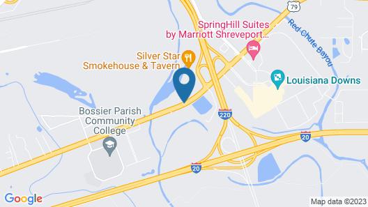 Comfort Suites Bossier City - Shreveport Map