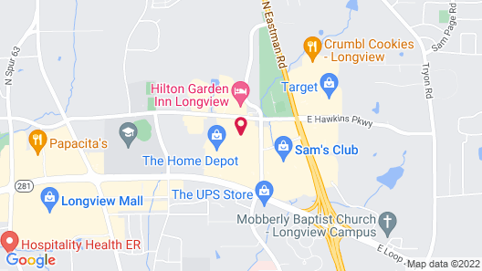 Staybridge Suites Longview, an IHG Hotel Map