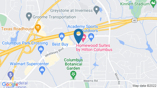 Homewood Suites by Hilton Columbus Map