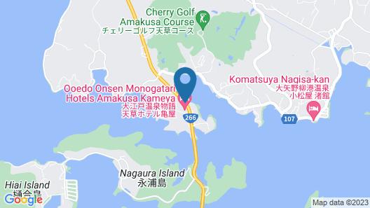 Kameya Hotel Hanatsubaki Map