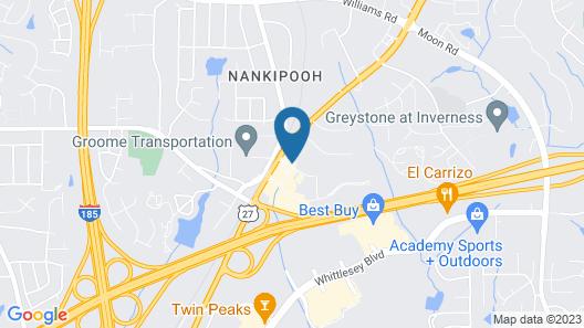 Hampton Inn Columbus-North Map