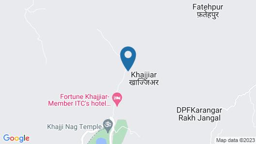 OYO 13272 Hotel Country Resort Map