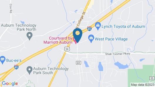 Tru by Hilton Auburn Map