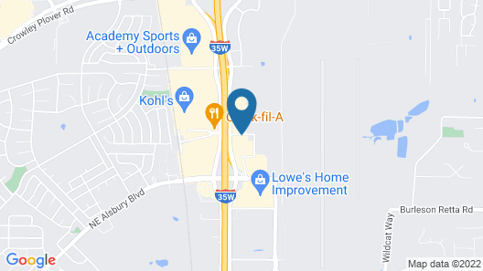 Red Roof Inn PLUS+ Fort Worth - Burleson Map
