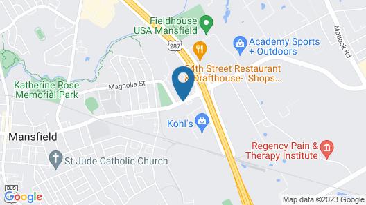 Courtesy Inn & Suites Map