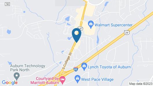 Holiday Inn Express Hotel & Suites Auburn - University Area, an IHG Hotel Map