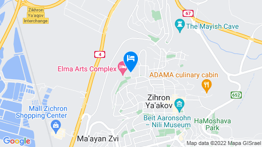 Elma Hotel and Art Complex Map