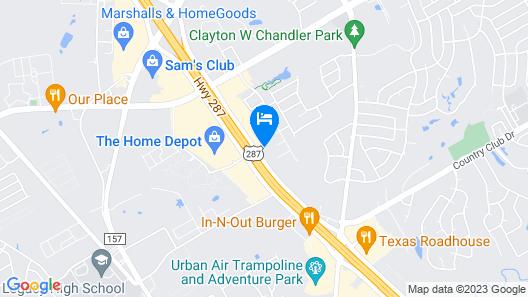 Hampton Inn & Suites Mansfield, TX Map