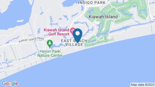 Kiawah Island Golf Resort - Villas Map