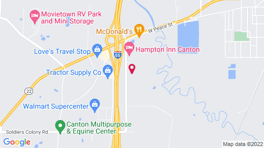 Holiday Inn Express Hotel & Suites Canton, an IHG Hotel Map