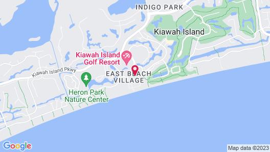 The Sanctuary at Kiawah Island Resort Map