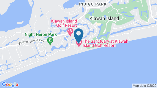 The Sanctuary at Kiawah Island Resort Map