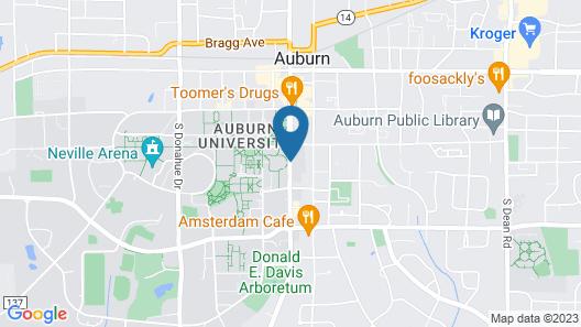 The Hotel At Auburn University Map
