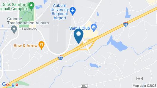 Hilton Garden Inn Auburn/Opelika Map