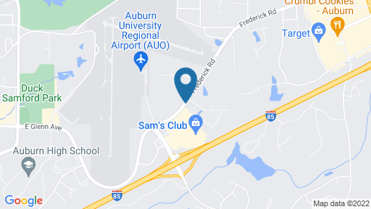 Candlewood Suites Auburn, an IHG Hotel Map