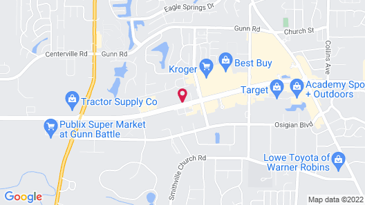 Holiday Inn Express Hotel & Suites Warner Robins North West, an IHG Hotel Map
