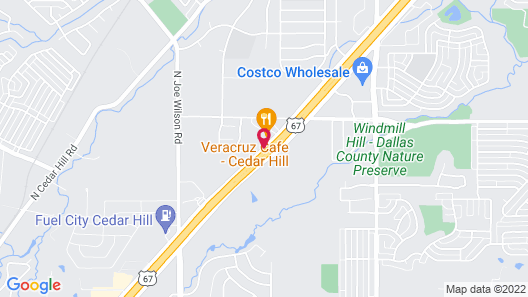 Comfort Inn & Suites Cedar Hill Duncanville Map