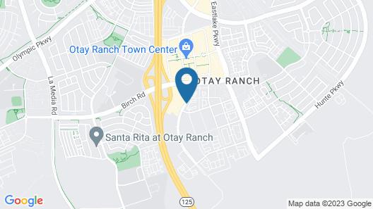 Ayres Hotel San Diego South - Chula Vista Map