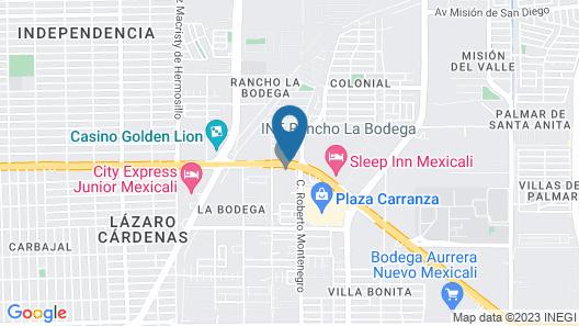 Sleep Inn Mexicali Map