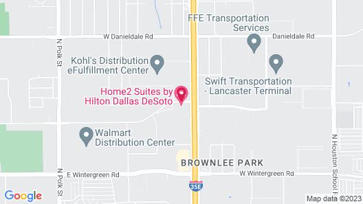 Hampton Inn & Suites Dallas-DeSoto Map