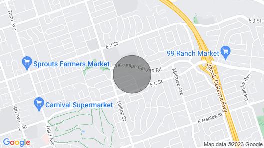 Upgraded Private Studio in Quiet Neighborhood Map