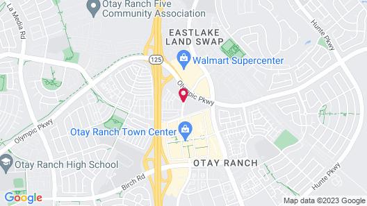 Residence Inn by Marriott San Diego Chula Vista Map