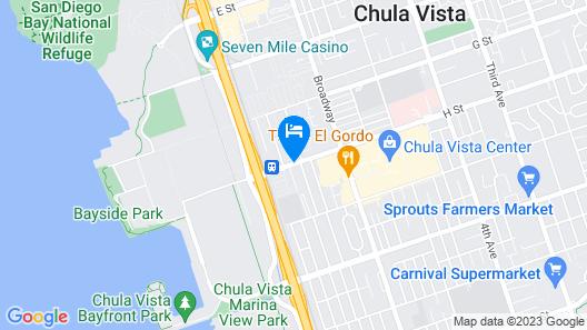 Hercor Hotel - Urban Boutique Map