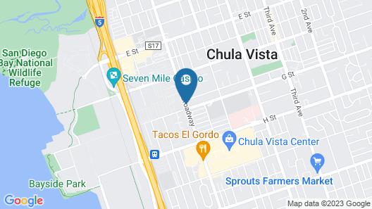 Red Roof Inn PLUS+ Chula Vista Map