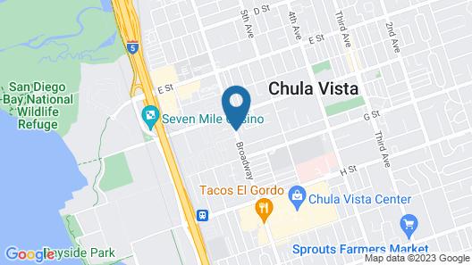 Big 7 Motel Map