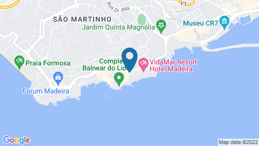 Allegro Madeira-Adults Only Map
