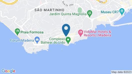Porto Mare Hotel Map