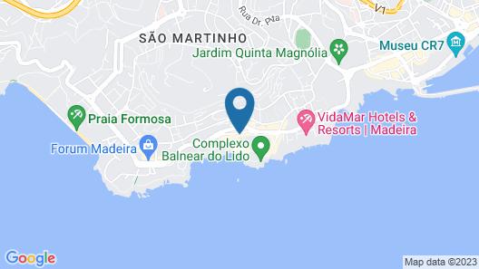 Melia Madeira Mare Map
