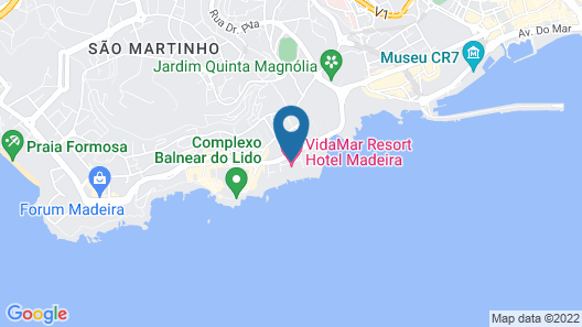 Vidamar Resort Madeira - Dining Around, Free Dinner Map