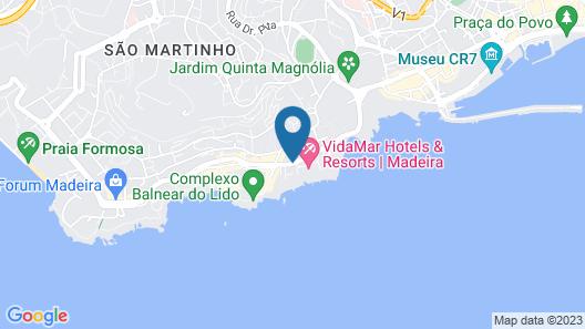 Hotel Girassol Map