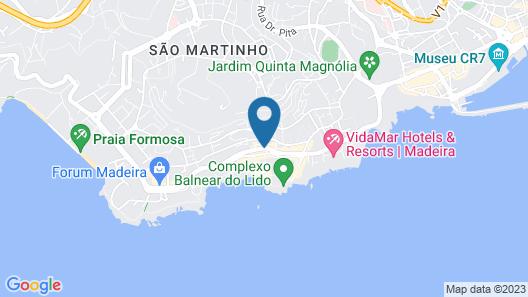The Lidosol Casas Maravilha Funchal Map