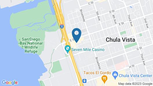 Howard Johnson Suite Hotel by Wyndham, Chula Vista/San Diego Map