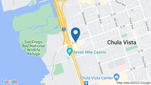 Quality Inn Chula Vista San Diego South Map