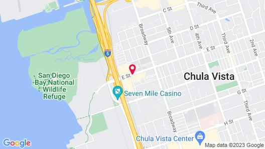 Days Inn by Wyndham San Diego Chula Vista South Bay Map