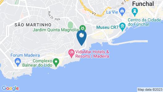 Pestana Village Garden Hotel Map