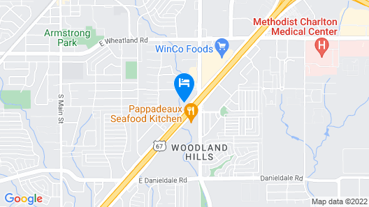 La Quinta Inn & Suites by Wyndham Dallas Duncanville Map