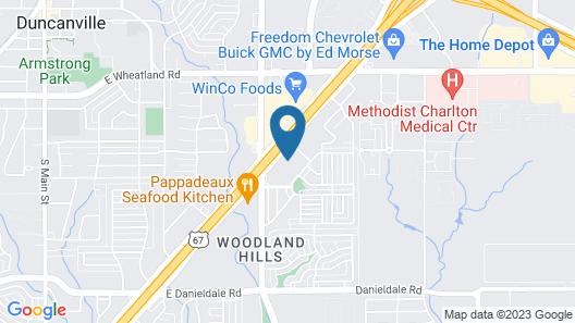 Best Western Plus Duncanville/Dallas Map