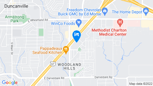Best Western Plus Duncanville/Dallas Map