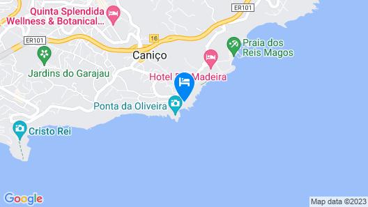 Rocamar Lido Resort Map
